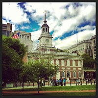 Photo taken at Independence Hall by Jurgen C. on 9/14/2013