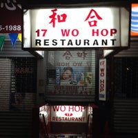 Photo taken at Wo Hop Restaurant by Paulie G. on 8/25/2013