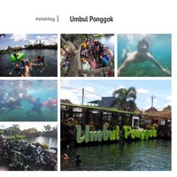 Photo taken at Umbul Ponggok by A H. on 11/28/2016