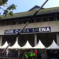 Photo taken at GOR C-Tra Arena by A H. on 11/14/2015