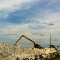 Photo taken at Tambang Kaolin, Belitung by A H. on 11/21/2014