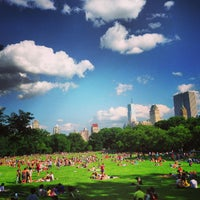 Photo taken at Sheep Meadow - Central Park by John L. on 6/15/2013