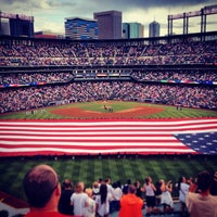 Photo taken at Coors Field by Carly B. on 7/5/2013