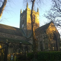 Photo taken at St Michael and All Angels by Bryony T. on 2/16/2014