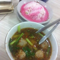 Photo taken at Bakso Jawir by Marshiela R. on 1/15/2016