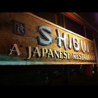 Photo taken at Shibui Japanese Restaurant by Sean V. on 9/16/2012