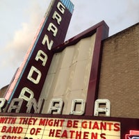 Photo taken at Granada Theater by Michelle A. on 5/15/2015