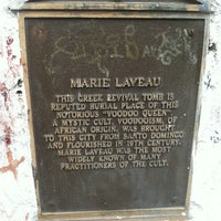 Photo taken at Tomb Of Marie Laveau by Kristina L. on 3/22/2013
