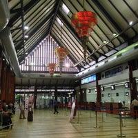 Photo taken at Siem Reap International Airport (REP) by Taro T. on 9/30/2012