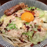 Photo taken at 麺屋 やま昇 by Hiro M. on 7/26/2013