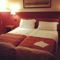 Photo taken at Hotel Cosmopolita Rome by Ryan V. on 1/3/2014