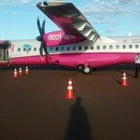 Photo taken at Aeroporto de Dourados (DOU) by Ricardo S. on 12/5/2014