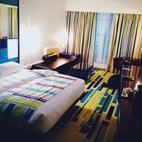 Photo taken at Dubai International Hotel by Anton K. on 4/9/2013