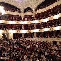 Photo taken at Teatro Municipal de Santiago by Rene N. on 3/14/2013
