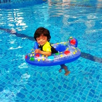 Photo taken at Pool · The Westin Kuala Lumpur 吉隆坡威斯汀酒店 by Fara A. on 1/3/2014