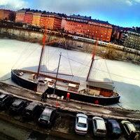 Photo taken at Sankt Eriksbron by Feffe K. on 4/7/2013