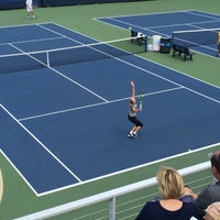 Photo taken at Practice Courts (1-5) - USTA Billie Jean King National Tennis Center by Maria V. on 9/7/2016
