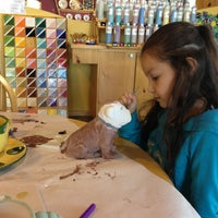Photo taken at Color Me Mine by Kristin V. on 1/6/2013