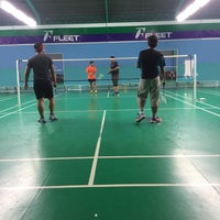 Photo taken at Pro One Badminton Centre by Mohd Firdaus on 11/2/2016