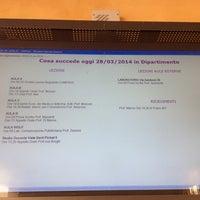 Photo taken at Dipartimento di Filosofia E Comunicazione by Antonio A. on 3/28/2014
