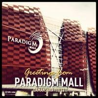 Photo taken at Paradigm Mall by Gunta R. on 7/2/2013