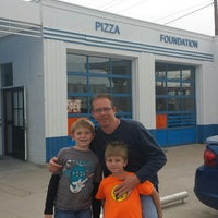 Photo taken at Pizza Foundation by JoAnne N. on 3/14/2014