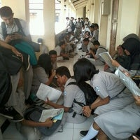 Photo taken at SMK Negeri 2 Surakarta by Aji K. on 11/27/2013
