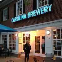 Photo taken at Carolina Brewery by Andrew C. on 4/22/2013