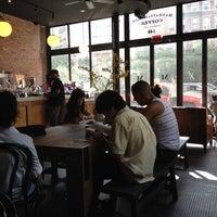 Photo taken at Manhattanville Coffee by Habiba on 8/17/2014