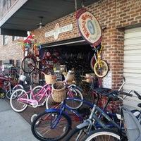 Photo taken at Wobbly Wheel Boardwalk Bicycle by Robert B. on 3/9/2014