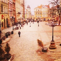 Photo taken at Rynok Square by Petro N. on 4/1/2013