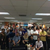Photo taken at Berita Harian by Petah Wazzan I. on 12/15/2014