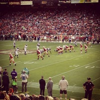 Photo taken at Candlestick Park by Adam T. on 8/26/2013