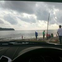 Photo taken at Tanjung Dawai by Adele on 9/18/2016