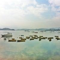 Photo taken at Tai Mei Tuk Water Sports Centre 大美督水上活動中心 by Josephine L. on 12/8/2013