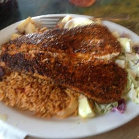 Photo taken at Paia Fish Market Restaurant by Jacob A. on 2/21/2013