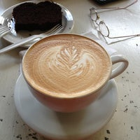 Photo taken at Posie's Bakery And Cafe by Dan P. on 10/19/2012