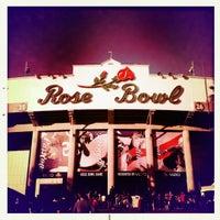 Photo taken at Rose Bowl Stadium by Michael C. on 1/1/2013
