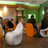 Photo taken at Orange Leaf Frozen Yogurt by Nathan B. on 9/16/2012