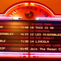 Photo taken at Regal Cinemas Fox Run 15 & RPX by Renee V. on 1/5/2013