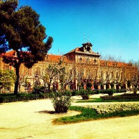 Photo taken at Parc de la Ciutadella by Ricardo C. on 4/3/2013