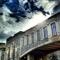 Photo taken at Torgersen Hall by Peter M. on 12/29/2012
