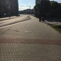 Photo taken at Anglické nábřeží (tram) by Tereza M. on 6/29/2016