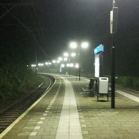 Photo taken at Station Overveen by Jarno v. on 10/15/2016