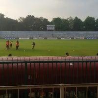 Photo taken at Stadion Wijayakusuma Cilacap by putri i. on 5/24/2014