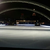 Photo taken at Nathan Phillips Square by Mike F. on 3/9/2013
