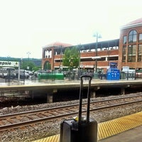 Photo taken at Poughkeepsie Station - Metro North & Amtrak by Andrej M. on 7/1/2013