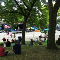 Photo taken at Freimann Square by Lee T. on 7/10/2016