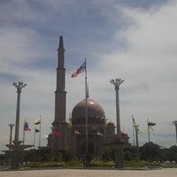 Photo taken at Masjid Putra by Shafee I. on 6/1/2013
