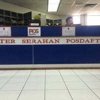 Photo taken at Pos Malaysia by eZZa e.K on 3/24/2016